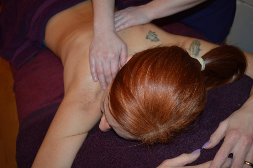 Back, Neck & Shoulder Massage